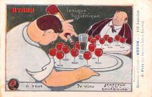 adv100187 - Advertising Byrrh Postcard Tonique Hygienique A Base De Vins Genereux de Quinquina Old Vintage Antique Post Card