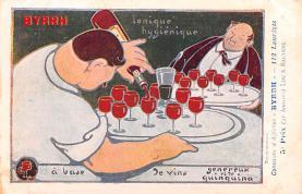 adv100187 - Advertising Byrrh Postcard Tonique Hygienique A Base De Vins Genereux de Quinquina Old Vintage Antique Post Card