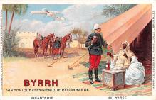 adv100205 - Advertising Byrrh Postcard Tonique Hygienique A Base De Vins Genereux de Quinquina Old Vintage Antique Post Card