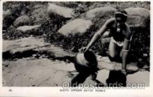 afr000063 - African Nude Nudes Postcard Post Card