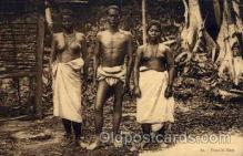 afr000069 - African Nude Nudes Postcard Post Card