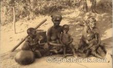 afr000072 - African Nude Nudes Postcard Post Card