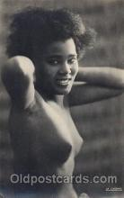 afr000079 - Provocation African Nude Nudes Postcard Post Card