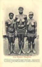 afr000083 - King Hangan's Daughters African Nude Nudes Postcard Post Card