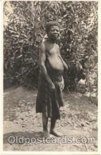 afr001010 - African Nude Nudes Postcard Post Card