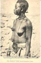 afr001016 - African Nude Nudes Postcard Post Card
