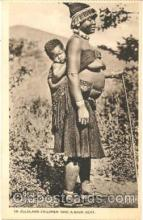 afr001020 - African Nude Nudes Postcard Post Card