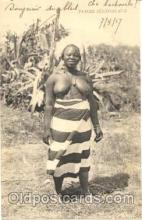 afr001073 - African Nude Nudes Postcard Post Card