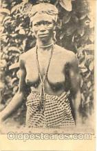 afr001085 - African Nude Nudes Postcard Post Card