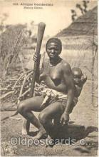 afr001087 - African Nude Nudes Postcard Post Card