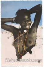 afr001090 - African Nude Nudes Postcard Post Card
