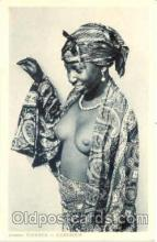 afr001092 - African Nude Nudes Postcard Post Card