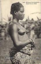 afr001105 - African Nude Nudes Postcard Post Card