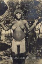 afr001113 - African Nude Nudes Postcard Post Card