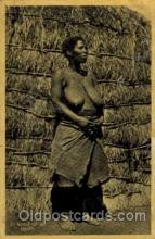 afr001114 - African Nude Nudes Postcard Post Card