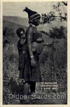 afr001121 - African Nude Nudes Postcard Post Card