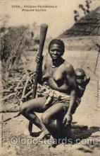 afr001122 - African Nude Nudes Postcard Post Card