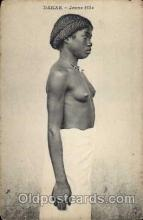 afr001141 - African Nude Nudes Postcard Post Card