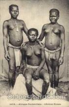 afr001142 - African Nude Nudes Postcard Post Card