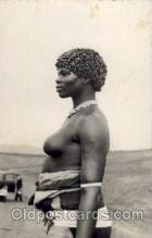 afr001148 - African Nude Nudes Postcard Post Card