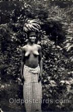 afr001151 - African Nude Nudes Postcard Post Card
