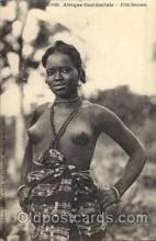 afr001153 - African Nude Nudes Postcard Post Card