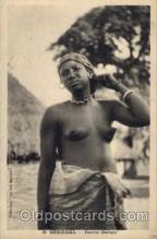 afr001154 - African Nude Nudes Postcard Post Card