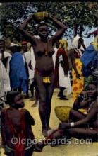 afr001157 - African Nude Nudes Postcard Post Card