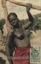 afr001172 - African Nude Nudes Postcard Post Card