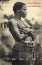 afr001173 - African Nude Nudes Postcard Post Card