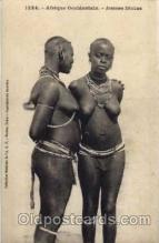 afr001177 - African Nude Nudes Postcard Post Card