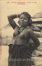 afr001185 - African Nude Nudes Postcard Post Card