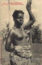 afr001186 - African Nude Nudes Postcard Post Card