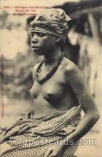 afr001189 - African Nude Nudes Postcard Post Card
