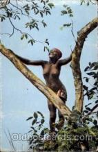 afr001196 - African Nude Nudes Postcard Post Card
