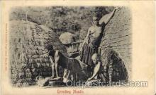 afr001202 - African Nude Nudes Postcard Post Card