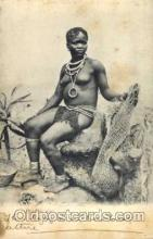 afr001215 - African Nude Nudes Postcard Post Card