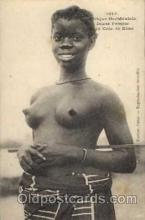 afr001217 - African Nude Nudes Postcard Post Card