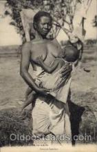 afr001220 - African Nude Nudes Postcard Post Card