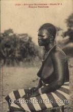 afr001222 - African Nude Nudes Postcard Post Card