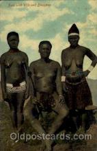 afr001224 - African Nude Nudes Postcard Post Card