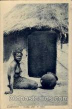 afr001227 - African Nude Nudes Postcard Post Card