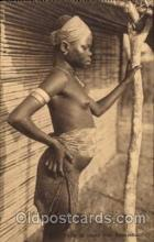 afr001235 - African Nude Nudes Postcard Post Card
