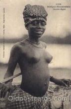 afr001246 - African Nude Nudes Postcard Post Card