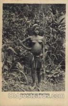 afr001258 - African Nude Nudes Postcard Post Card