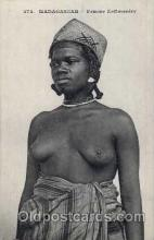 afr001261 - African Nude Nudes Postcard Post Card