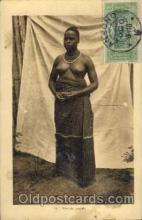 afr001266 - African Nude Nudes Postcard Post Card