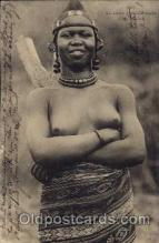 afr001274 - African Nude Nudes Postcard Post Card