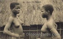 afr001279 - African Nude Nudes Postcard Post Card