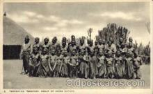afr001283 - African Nude Nudes Postcard Post Card